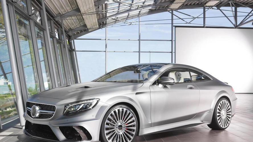 Mercedes-Benz S63 AMG Coupe by Mansory packs a mighty 900 PS punch