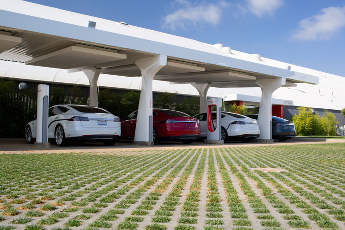 Building a Tesla Supercharger at Warp Speed [Video]