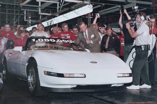 GM Brought its One Millionth Corvette Back from the Grave