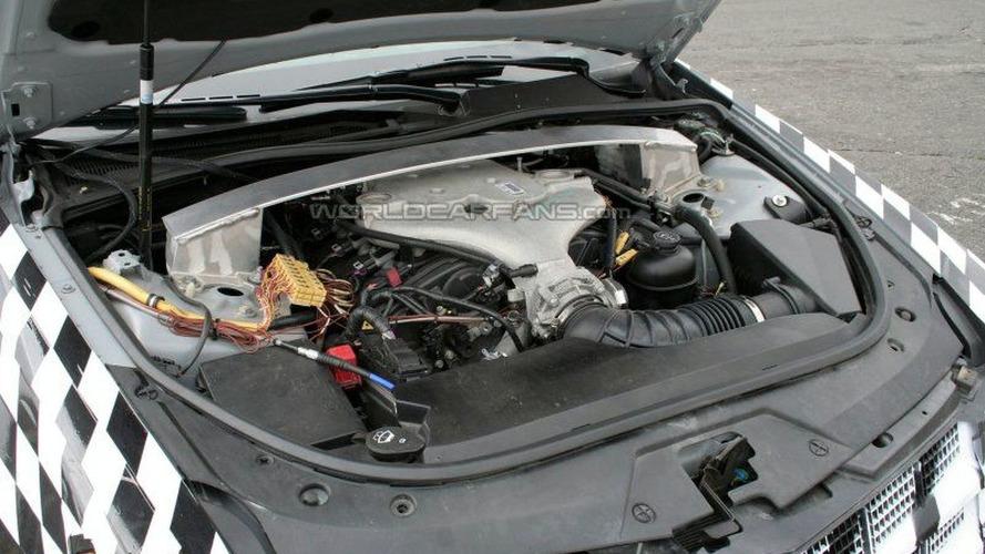 More Cadillac CTS Engine Bay Photos