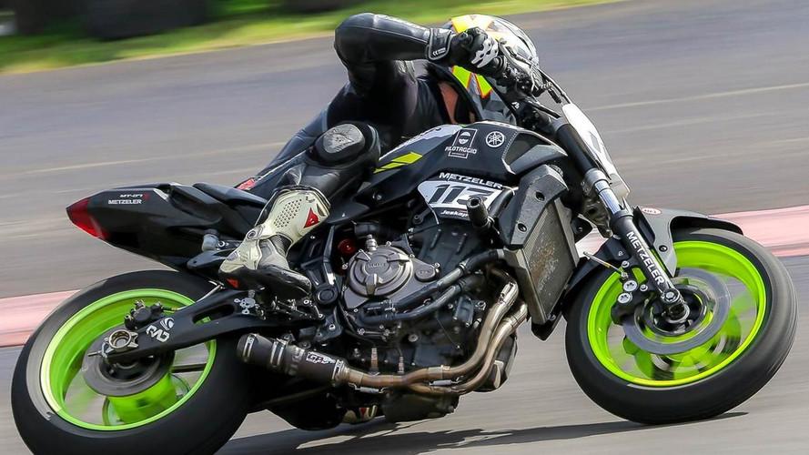 Brasileiro usará Yamaha MT-07 no Pikes Peak