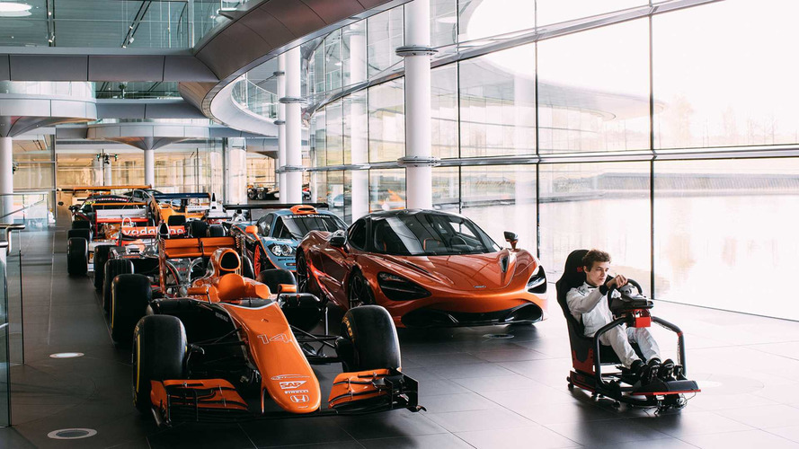 McLaren Launches eSports Contest For F1 Simulator Role