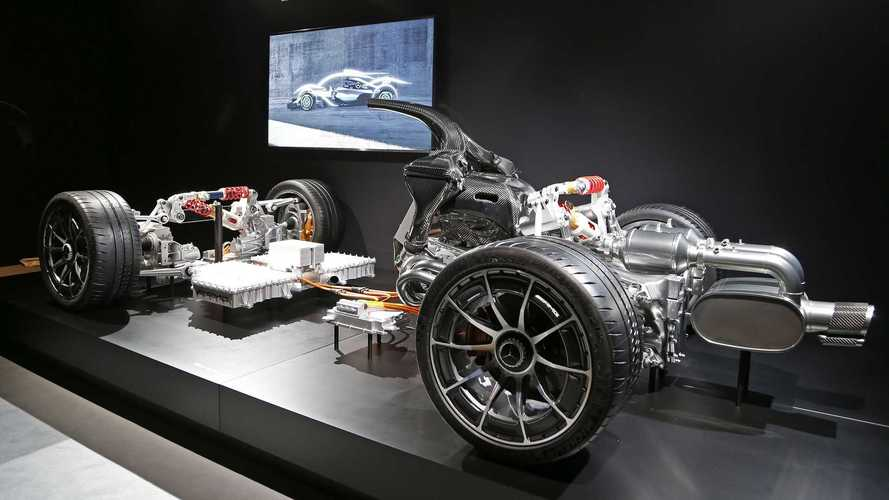 Mercedes-AMG Project One altyapı mimarisi