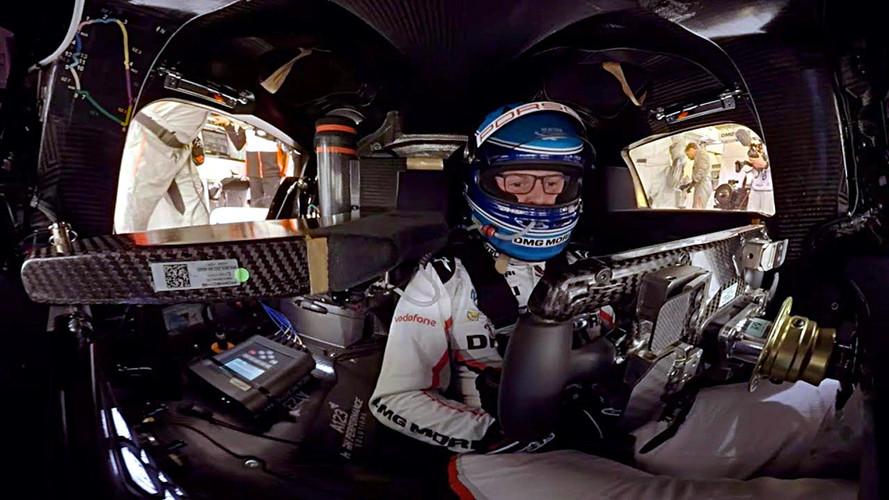 Take A 360-Degree Lap Of Le Mans In The Porsche 919 Hybrid