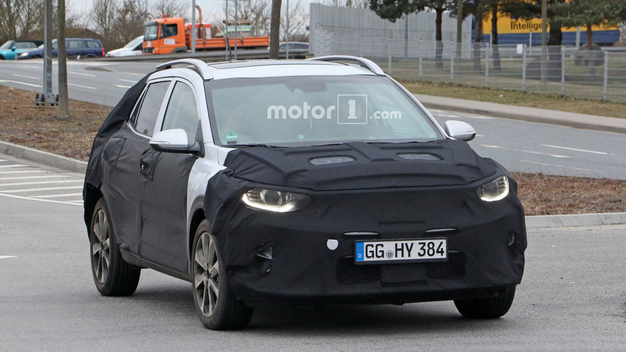 Kia Stonic Compact Crossover Spied On The Road