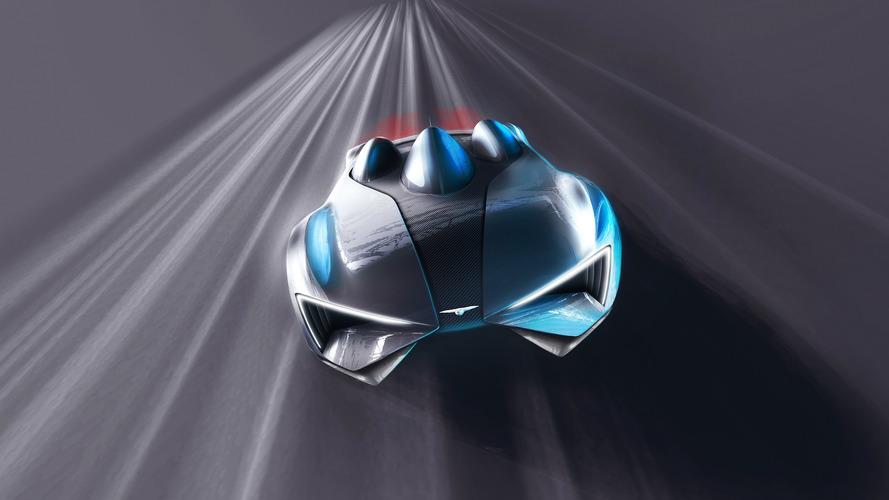 Techrules supercar teased ahead of Geneva