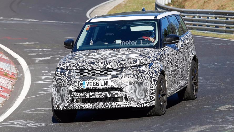Land Rover Range Rover Sport SVR Facelift Spy Pics