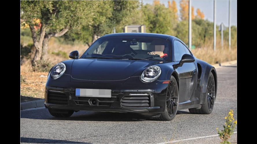 Erwischt: Porsche 911 Turbo 2019