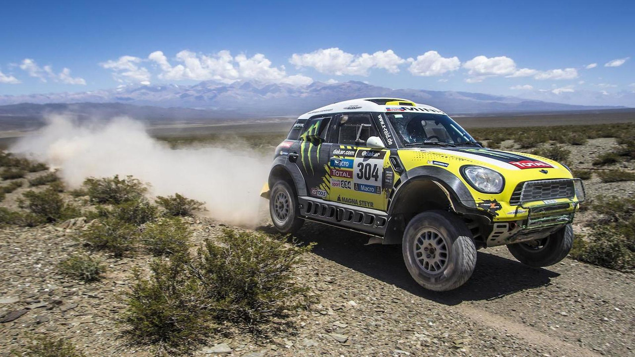 Joan Roma's MINI ALL4 Racing at Dakar 2014