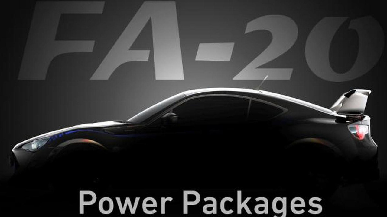 Cosworth FA-20 package for Subaru BRZ / Toyota 86