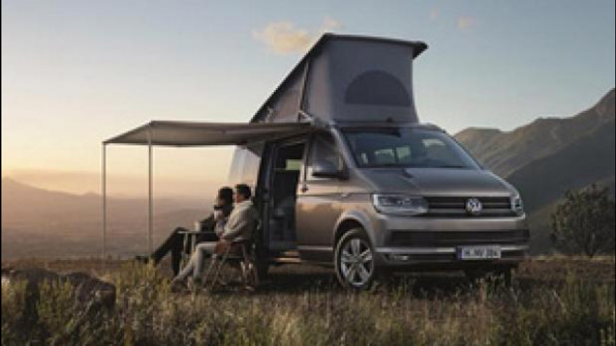 Volkswagen California, anteprima italiana a Parma