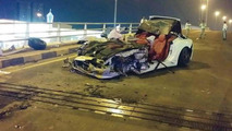 Ferrari California accident in UAE