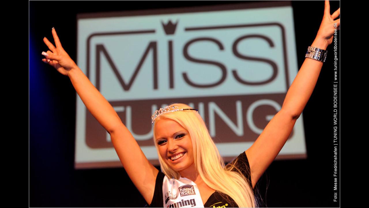 Hatte im Vorjahr Grund zum Strahlen: Miss Tuning 2011 Mandy Lange