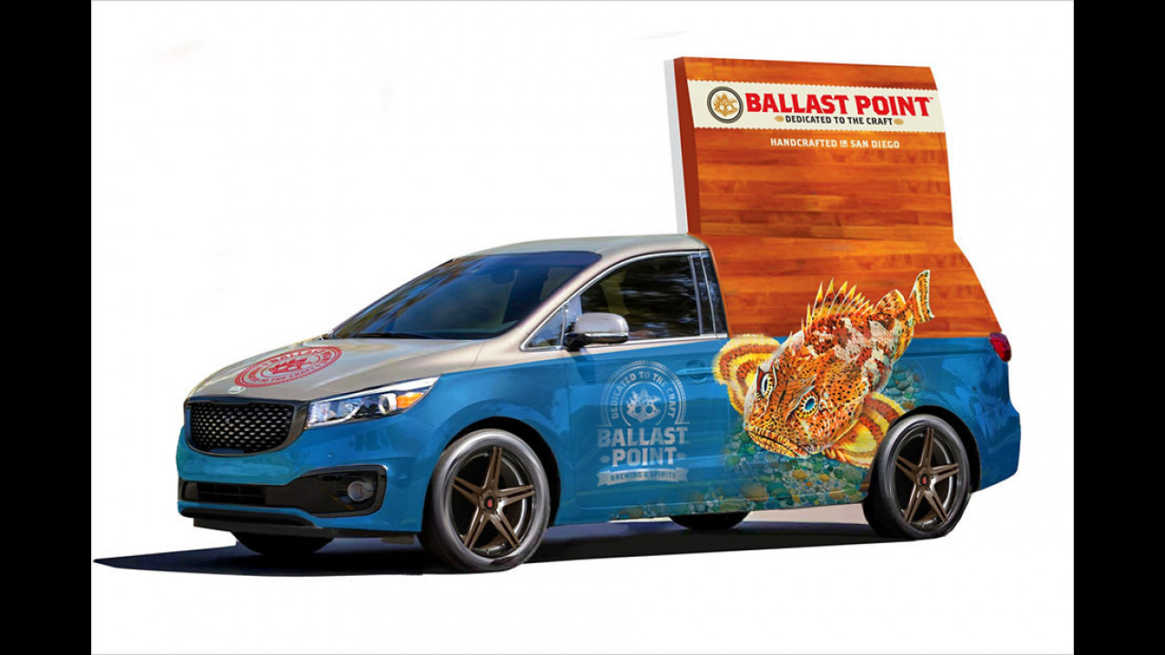 Kia Sedona Ballast Point Concept