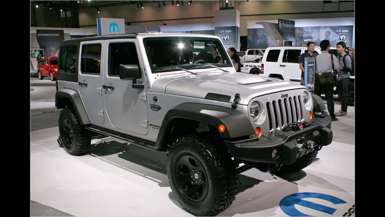 Jeep Wrangler Call of Duty