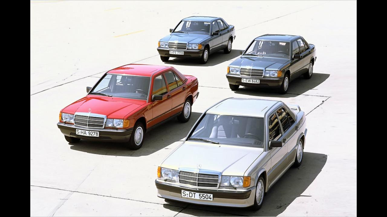 30 Jahre Mercedes 190