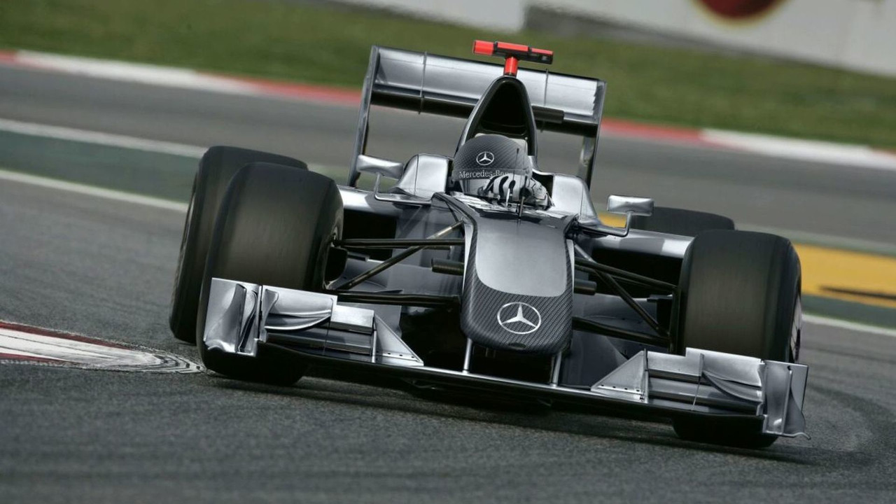 Mercedes GP PETRONAS 2010 Concept Livery