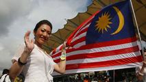 Kuala Lumpur, Malaysia, Grid girl - Formula 1 World Championship, Rd 2, Malaysian Grand Prix