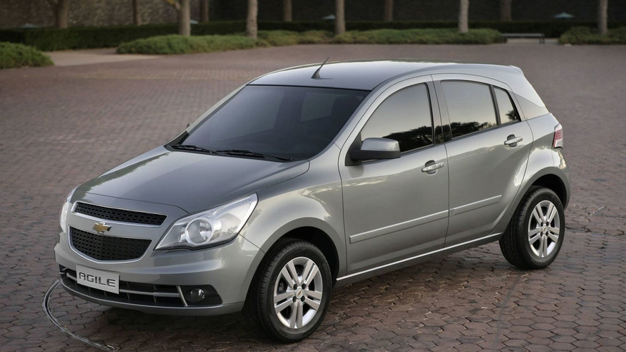 South American Bound Chevrolet Agile Revealed