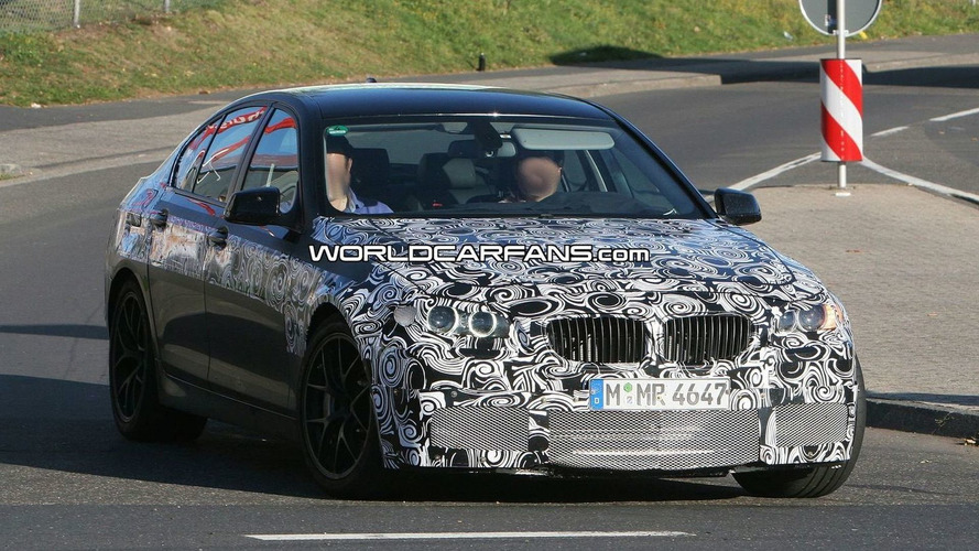 BMW M5 (F10) Nurburgring Spy Video