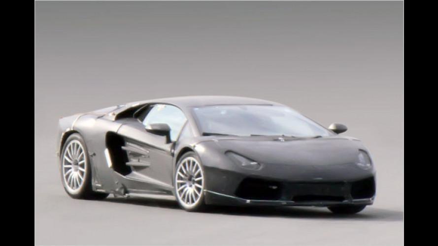 Erwischt: Lamborghini Jota