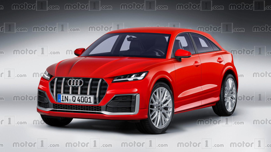 Audi Q4 2019: render del gran rival del BMW X2