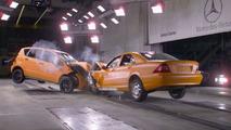 Mercedes-Benz A-Class crash test