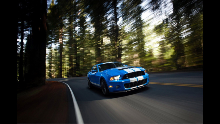 Nuova Ford Shelby Mustang GT500