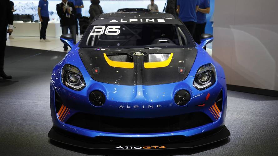 Újabb versenyváltozat az Alpine A110-ből: itt a GT4-es kivitel
