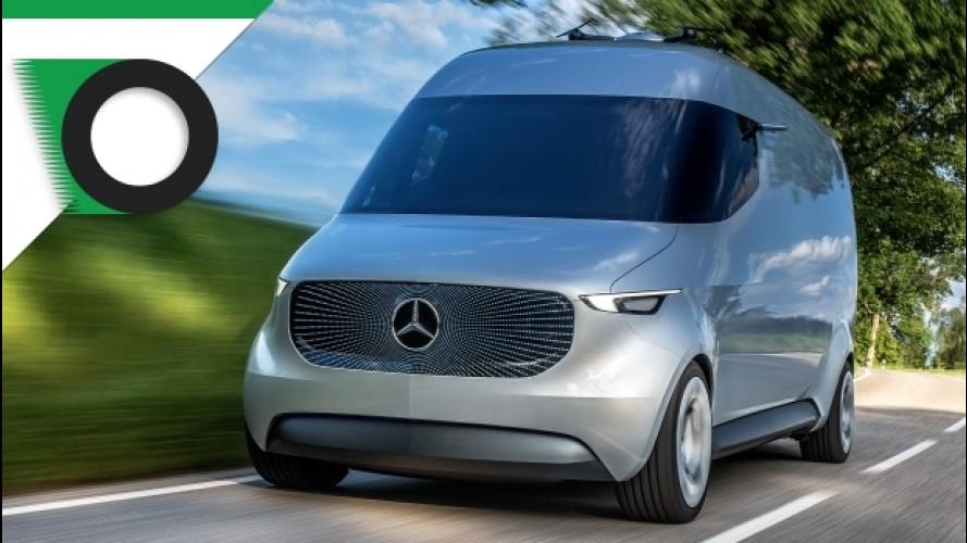 Mercedes, al CES il veicolo commerciale del futuro
