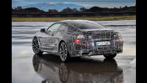 BMW Serie 8 Coupé, ultimi test ad Aprilia
