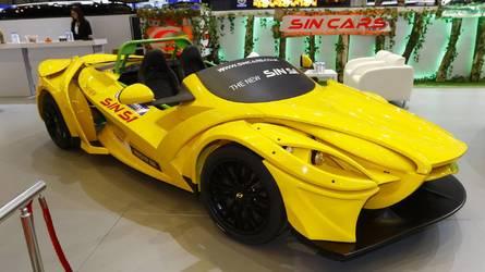 Sin S1 Live From Geneva Motor Show