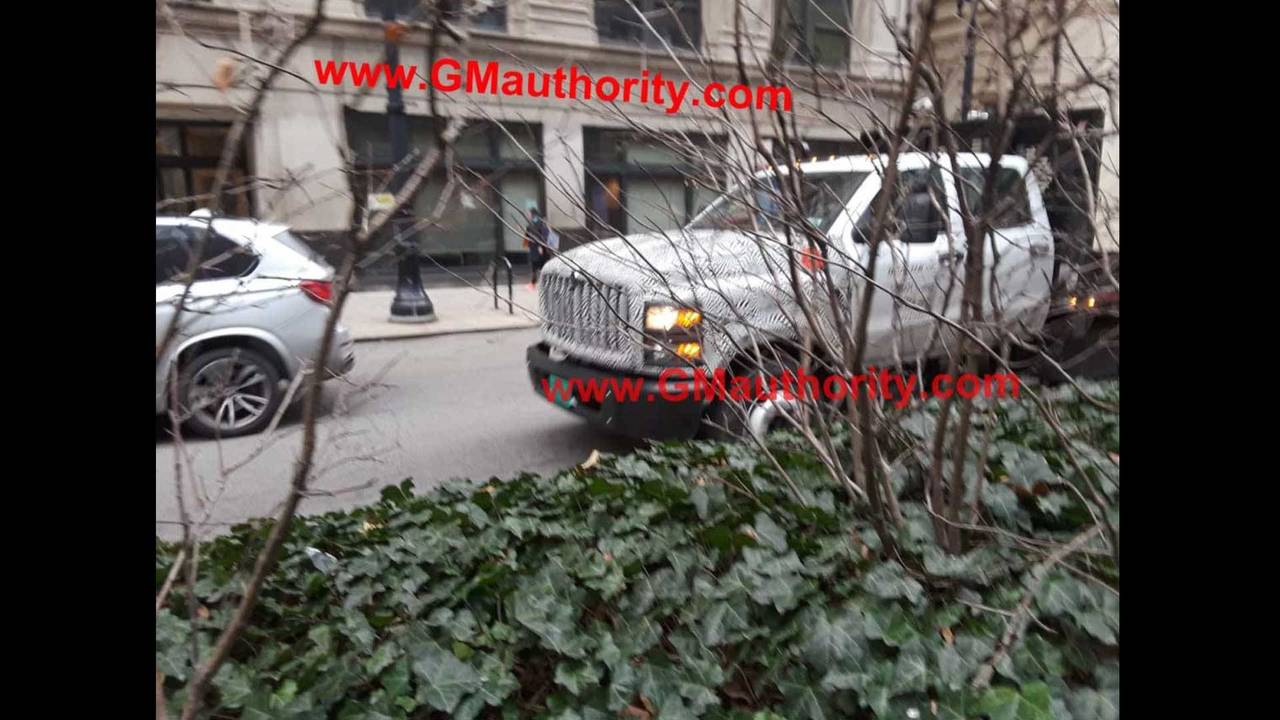 2019 Chevrolet Silverado Medium Duty Spy Photo