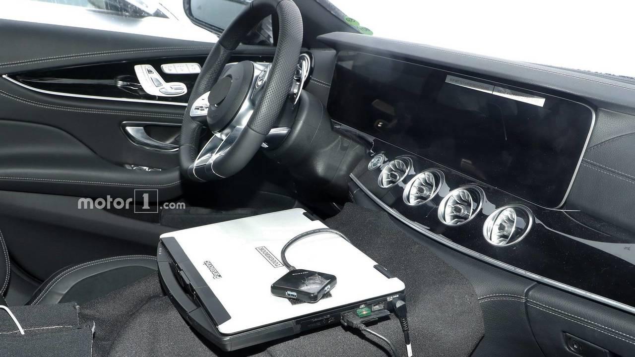L'intérieur de la Mercedes-AMG GT Berline