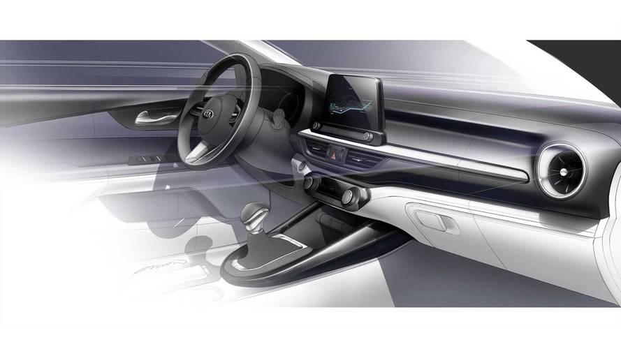 2018 Kia Forte Sedan/Cerato tasarım çalışmaları