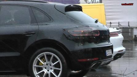 Szinte álca nélkül látható a Porsche Macan frissített változata