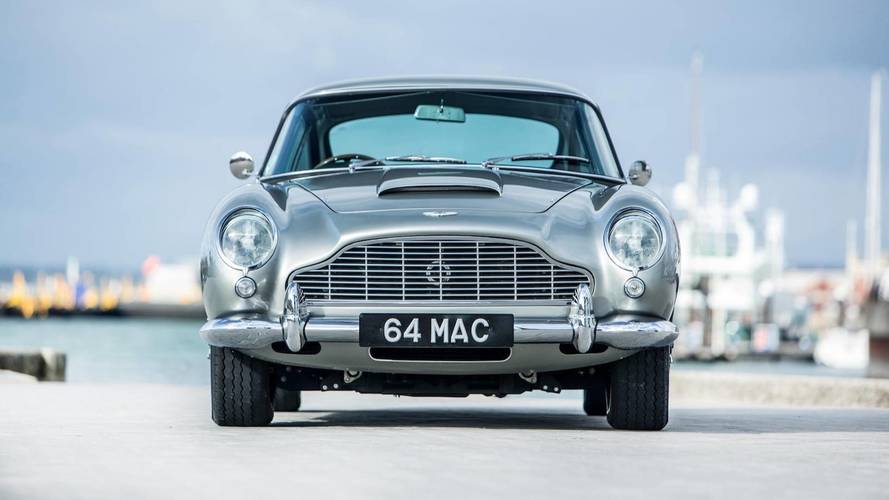 Aston Martin DB5 bought by Paul McCartney gets £1.3m at auction