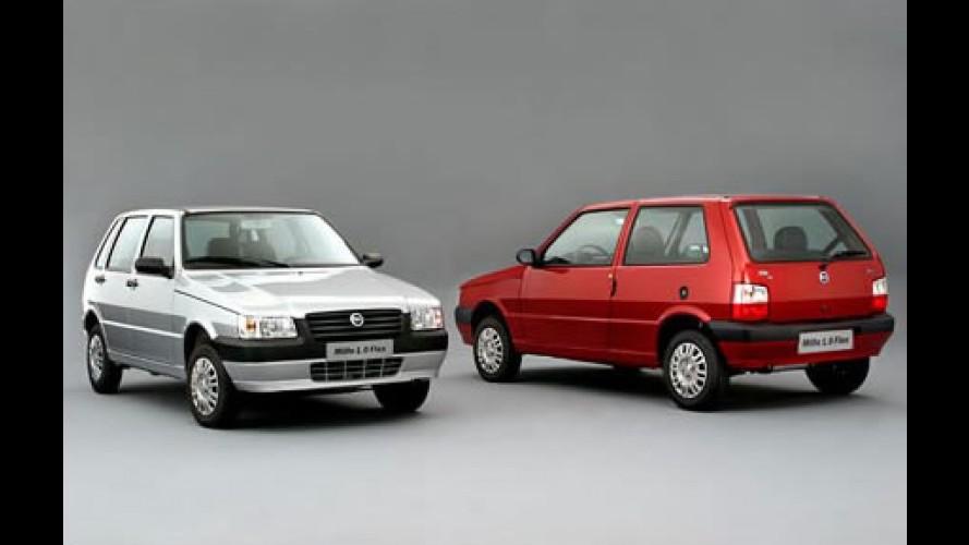 Fiat Uno Mille ainda é o carro mais barato do Brasil