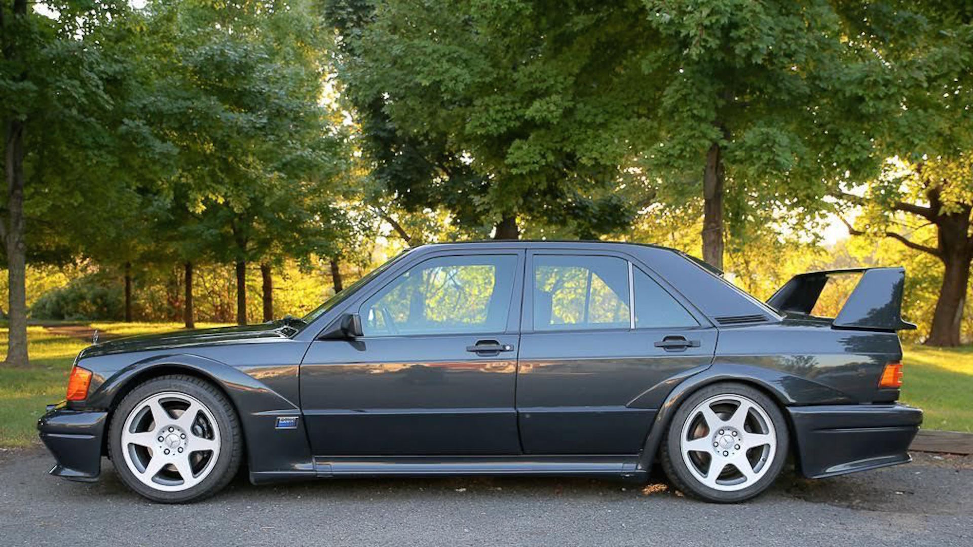 1990 mercedes benz 190e cosworth evo ii on ebay with for Mercedes benz 190 for sale