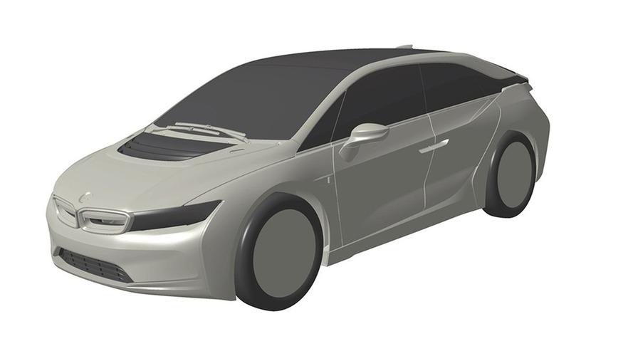 Olası BMW i5 patent fotoğrafları