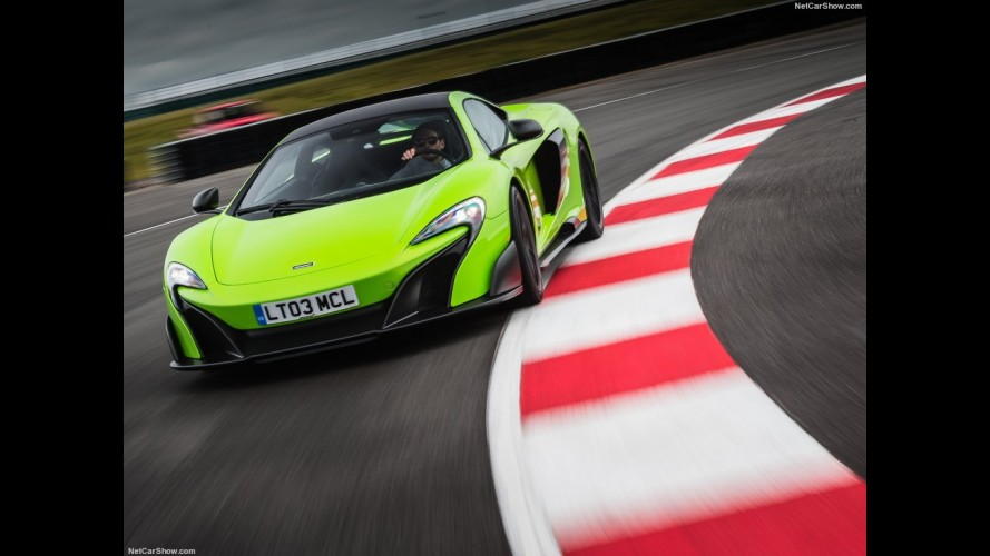 Vid o voici la mclaren 675lt la plus ch re du monde for Garage renault le thor