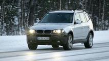BMW X3 M-Design spy photos