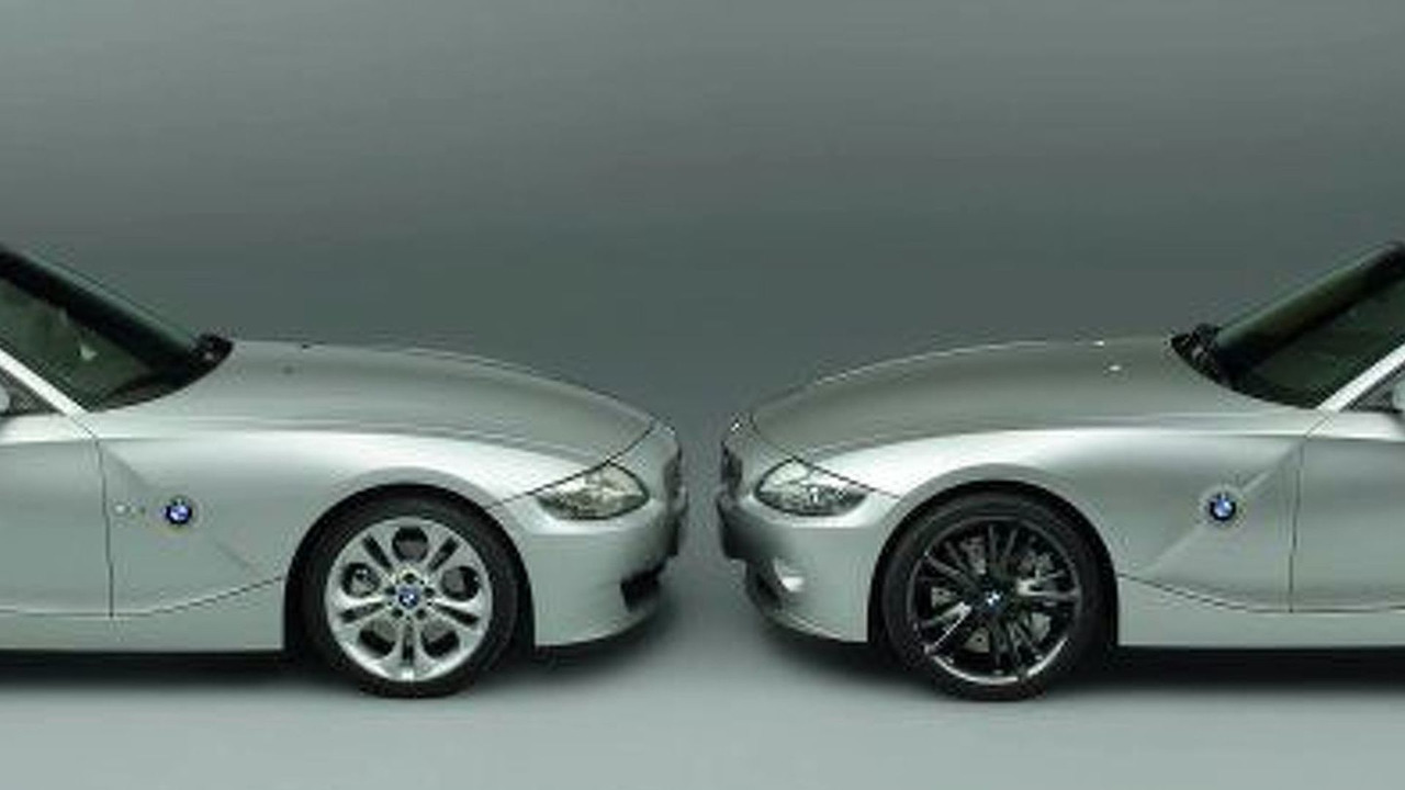 BMW Z4 Coupe and M coupe