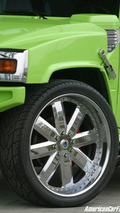 Green Hummer H2 by Geigercars