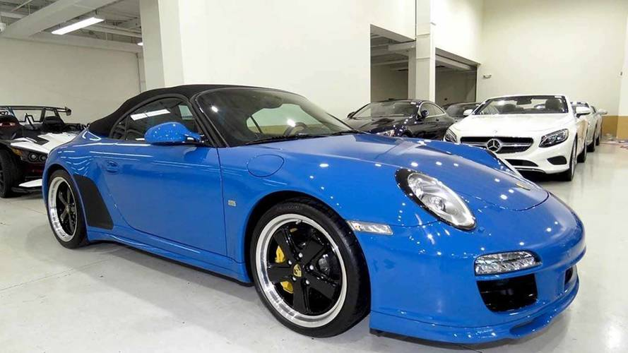 Can't Wait For The New 911 Speedster? Here's An Old One For $270K