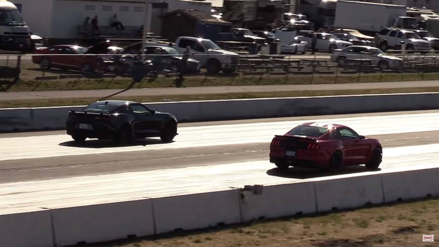 Camaro ZL1 vs Shelby GT350