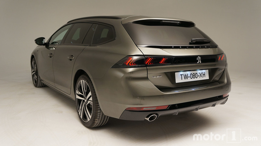 peugeot 508 sw 2018 toutes les photos live et en vid os. Black Bedroom Furniture Sets. Home Design Ideas