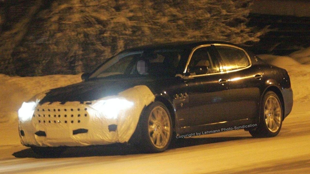 Maserati Quattroporte Facelift Spied