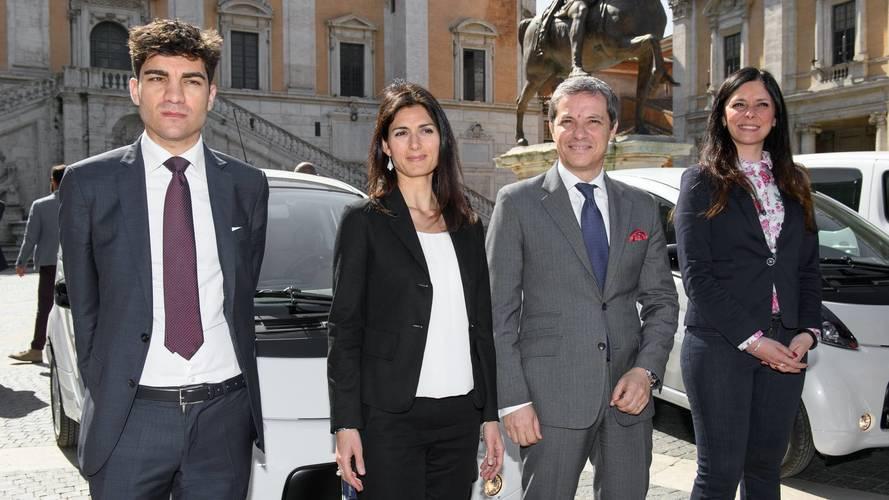 Citroen C-Zero e Berlingo Full Electric a Roma Capitale