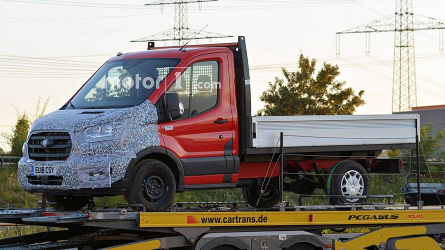 Ford Transit Spied On A Trailer, Could Be Getting VW-Sourced AWD